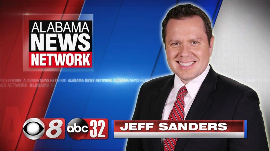 photo of Alabama News Network anchor Jeff Sanders