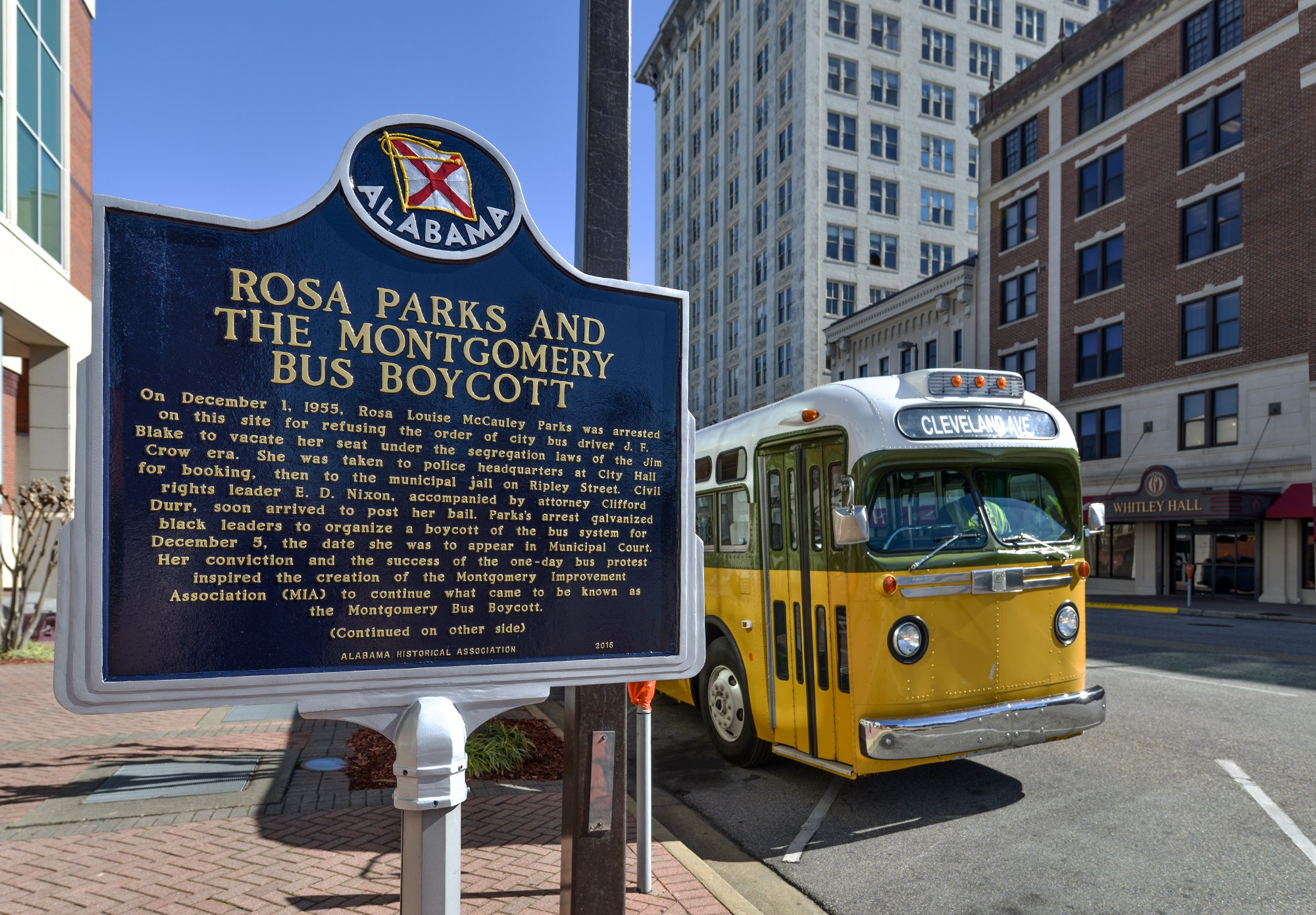 62nd Anniversary Of Rosa Parks Refusal To Give Up Bus Seat Alabama