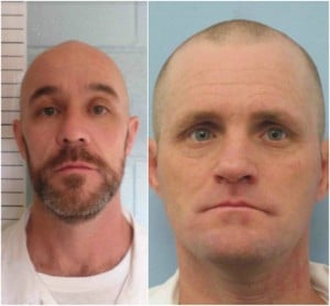Authorities Search for Two Work Release Escaped Inmates