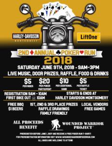 2018 Wounded Warrior Poker Run @ Harley Davidson Montgomery | Montgomery | Alabama | United States