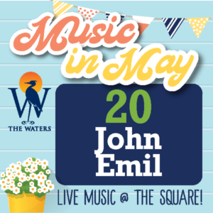 Music in May - John Emil @ The Waters Pike Road - Town Square | Pike Road | Alabama | United States