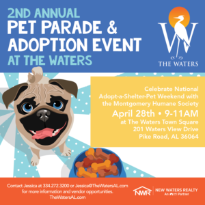 The Waters Pet Parade & Adoption Event @ The Waters Pike Road -Town Square | Pike Road | Alabama | United States