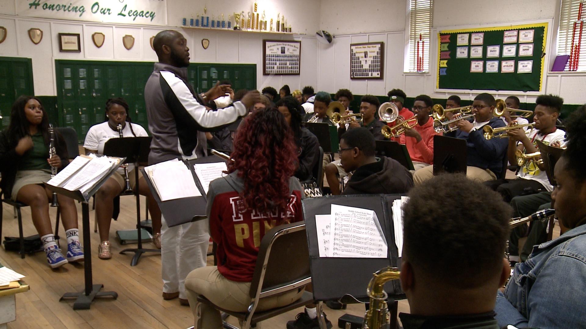 Jefferson Davis High School Marching Band Needs Your Help