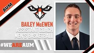 Men S Basketball Tabs Bailey Mcewen As Assistant Coach