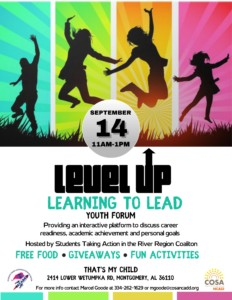 """""""Level Up - Learning to Lead"""" Youth Forum @ That's My Child"""
