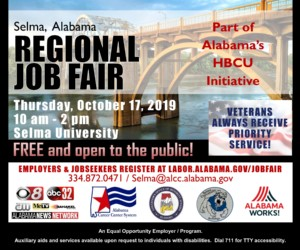 Selma Regional Job Fair @ Selma University