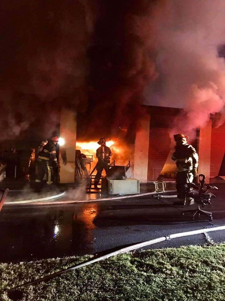 Montgomery Mini Storage Facility Units Damaged In Early