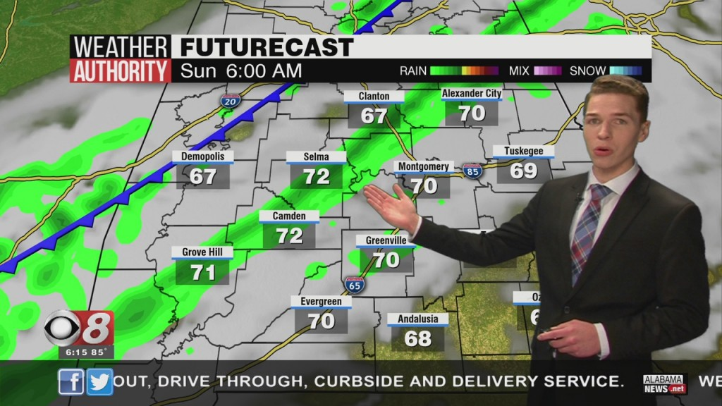 Ben's 6pm Forecast Friday 3 27 20