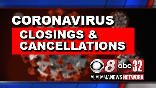 Coronavirusclosingsandcancellations