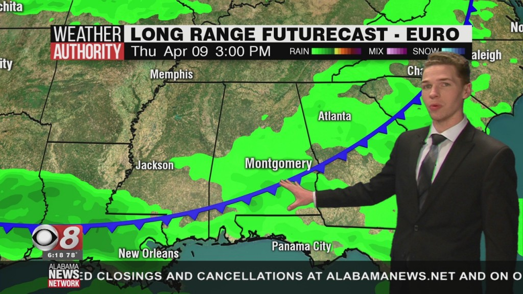 Ben's 6pm Forecast Saturday 4 4 20