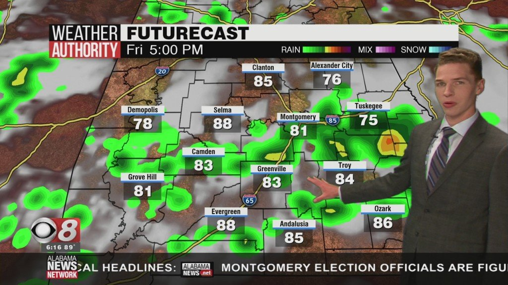 Ben's 6pm Forecast Thursday 6 4 20