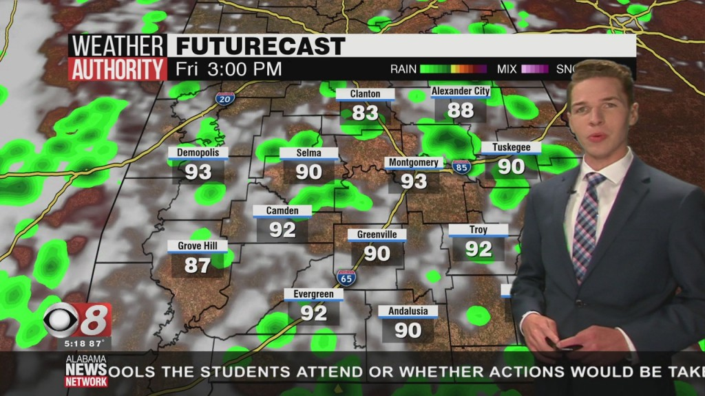 Ben's 5pm Forecast Thursday 7 2 20