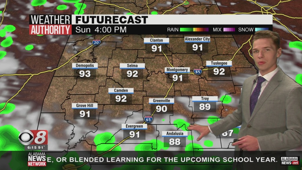 Ben's 6pm Forecast Saturday 7 4 20