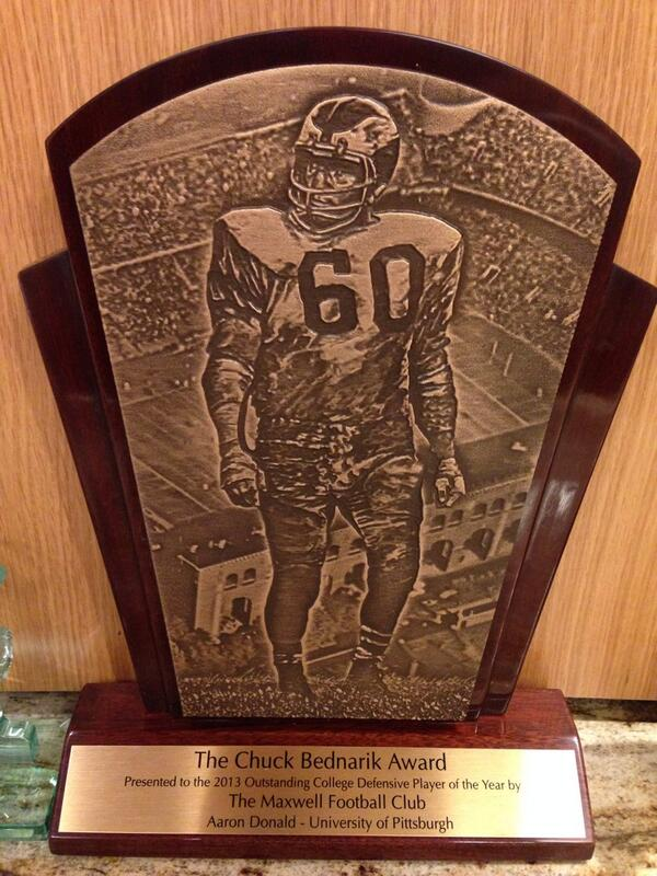 Bednarik Award Trophy