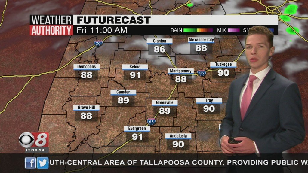 Ben's Noon Forecast Thursday 8 6 20