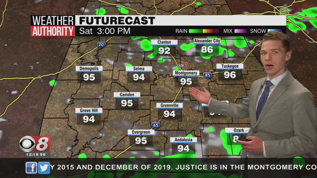 Ben's Noon Forecast Friday 8 7 20