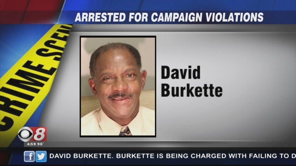 David Burkette Arrested