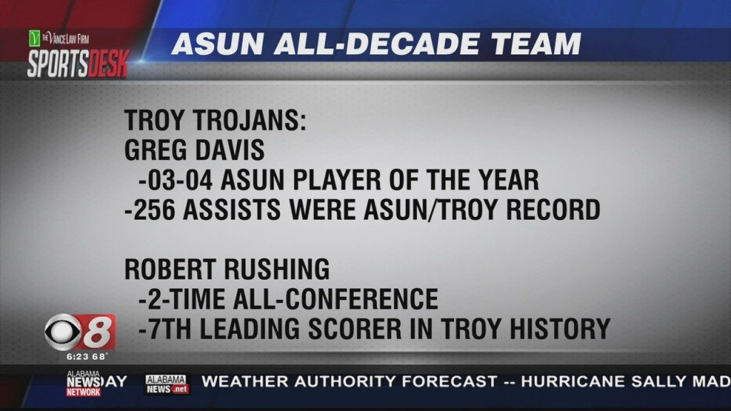 Troy All Decade