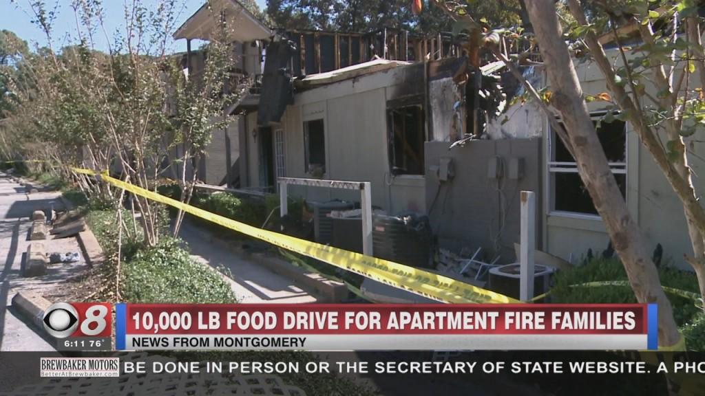 Food Drive Fire