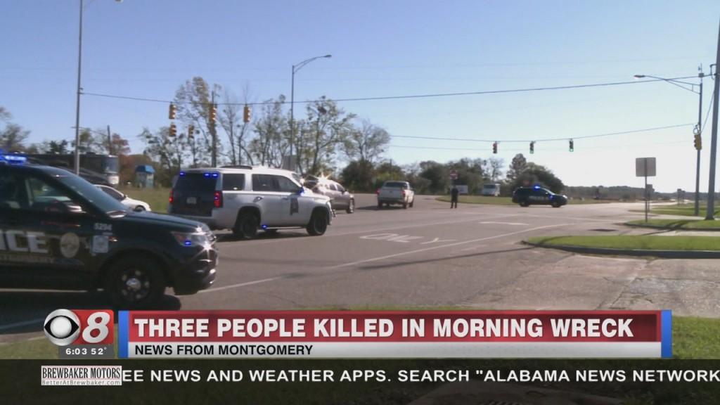 Three People Killed In Crash