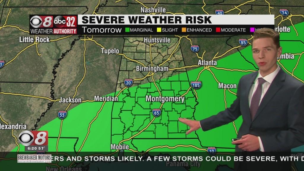 Ben's 6pm Forecast Saturday 11 28 20