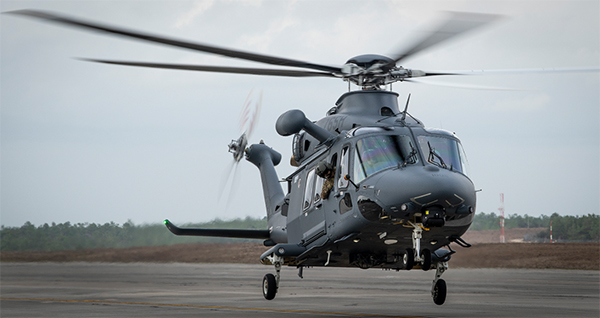 Grey Wolf Helicopter