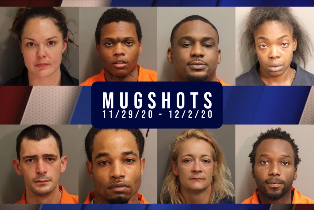 Montgomery County Mugshots 11.29 12.2