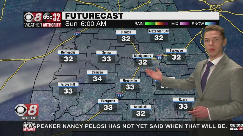 Ben's 5pm Forecast 1 15 21