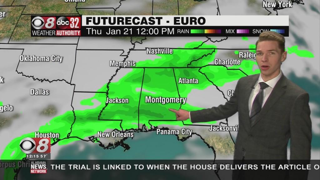 Ben's Noon Forecast Monday 1 18 21