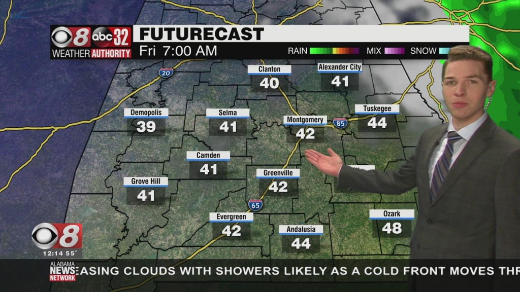 Ben's Noon Forecast Thursday 1 14 21