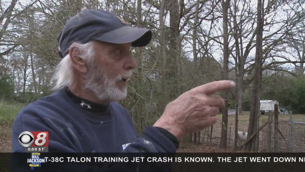 Residents React To Plane Crash