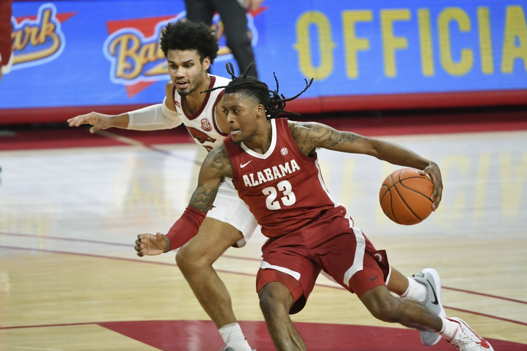 Alabama Arkansas Basketball