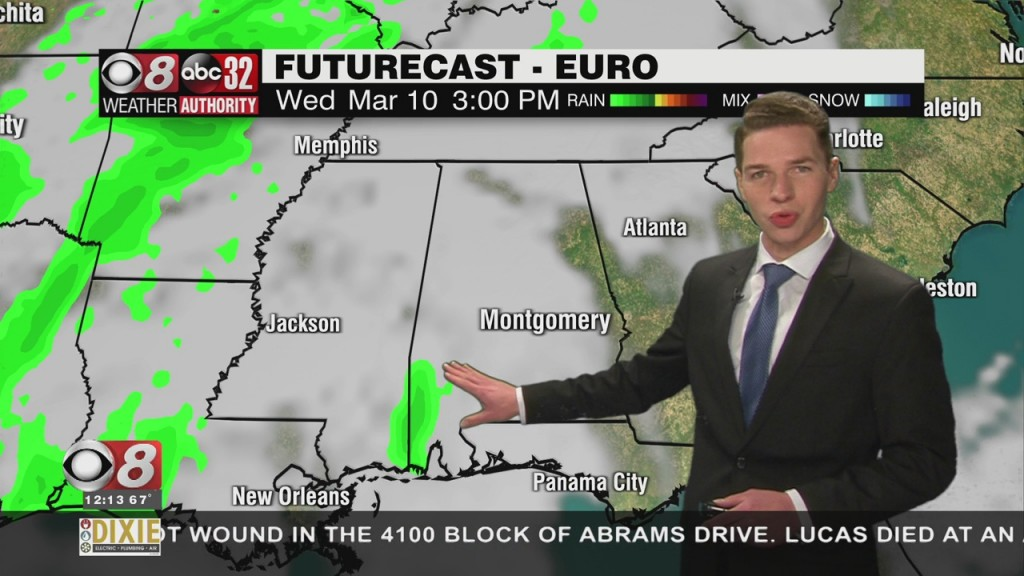 Ben's Noon Forecast Monday 3 8 21