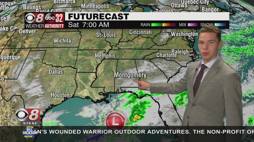 Ben's 5pm Forecast Friday 3 5 21
