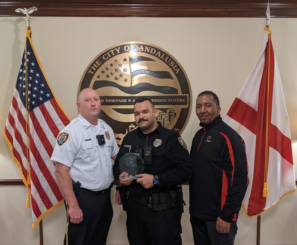 Andalusia Officer Of The Year 2022