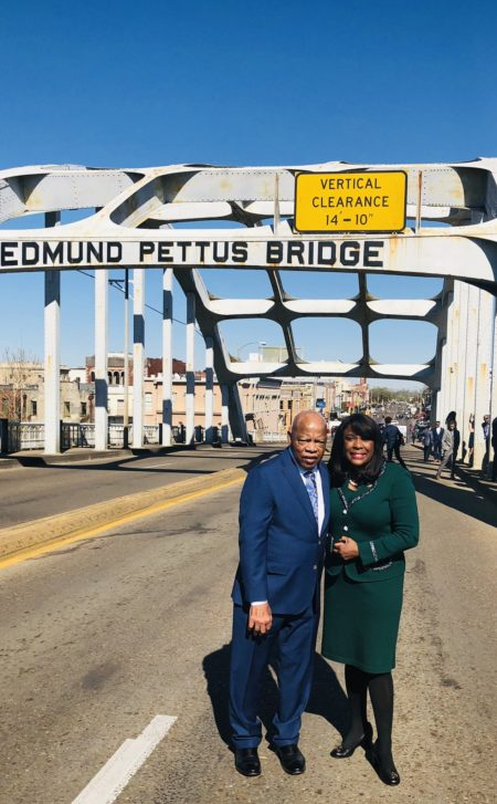 Congressman John Lewis And Congresswoman Terri Sewell