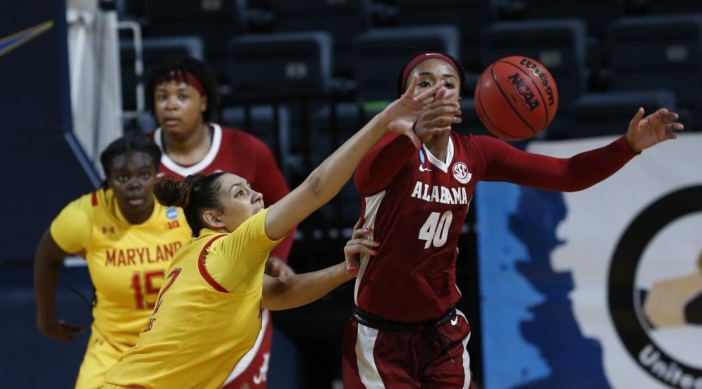 Ncaa Alabama Maryland Basketball