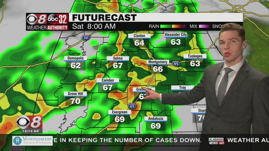 Ben's Noon Forecast Friday 4 9 21