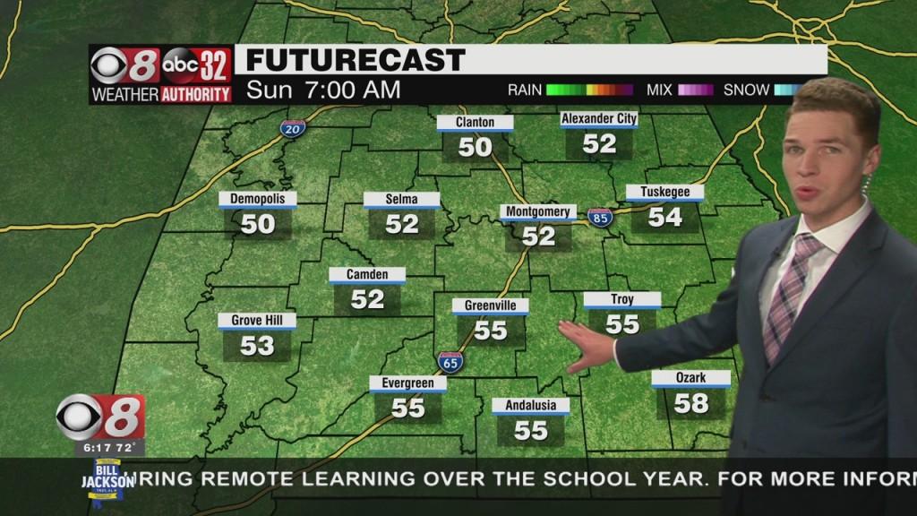 Ben's 6pm Forecast Saturday 4 17 21