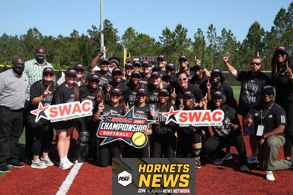 Asu Softball Swac Champs Provided By Alabama State University