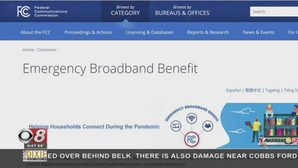 Wtt Broadband Benefit Program 050421
