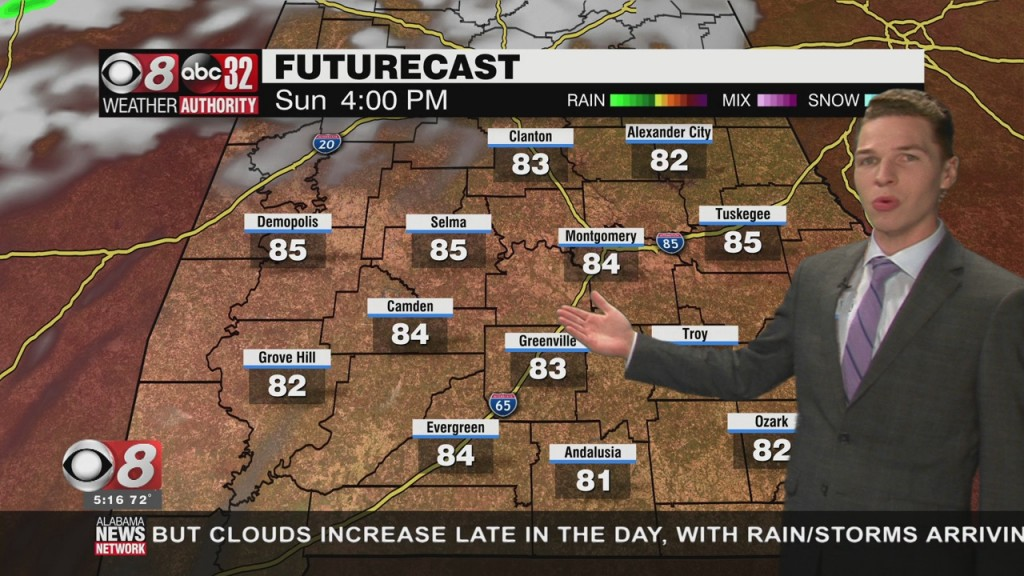 Ben's 5pm Forecast Friday 5 7 21