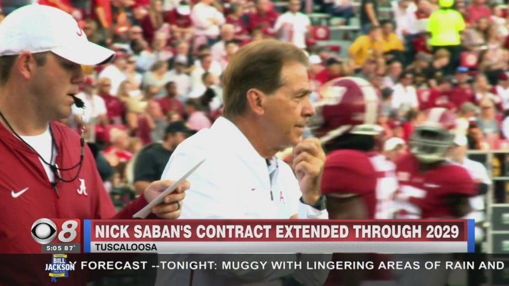 Saban Contract Extension