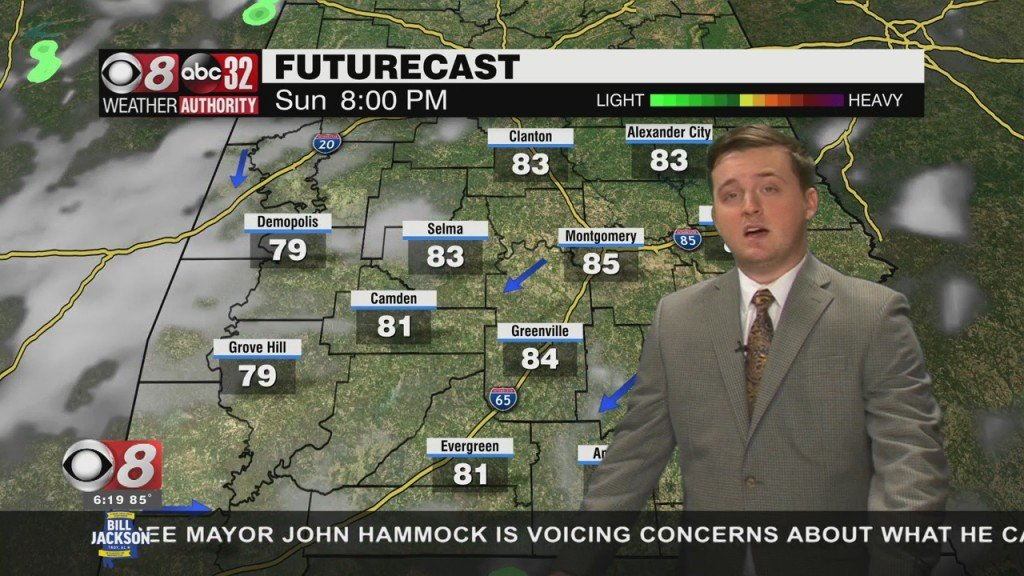 Riley's 6pm Forecast