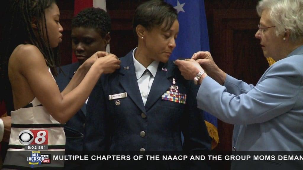 First Female Air National Guard