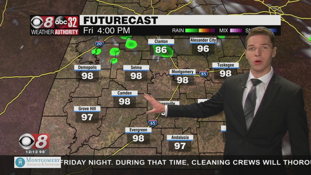 Ben's Noon Forecast Thursday 7 29 21