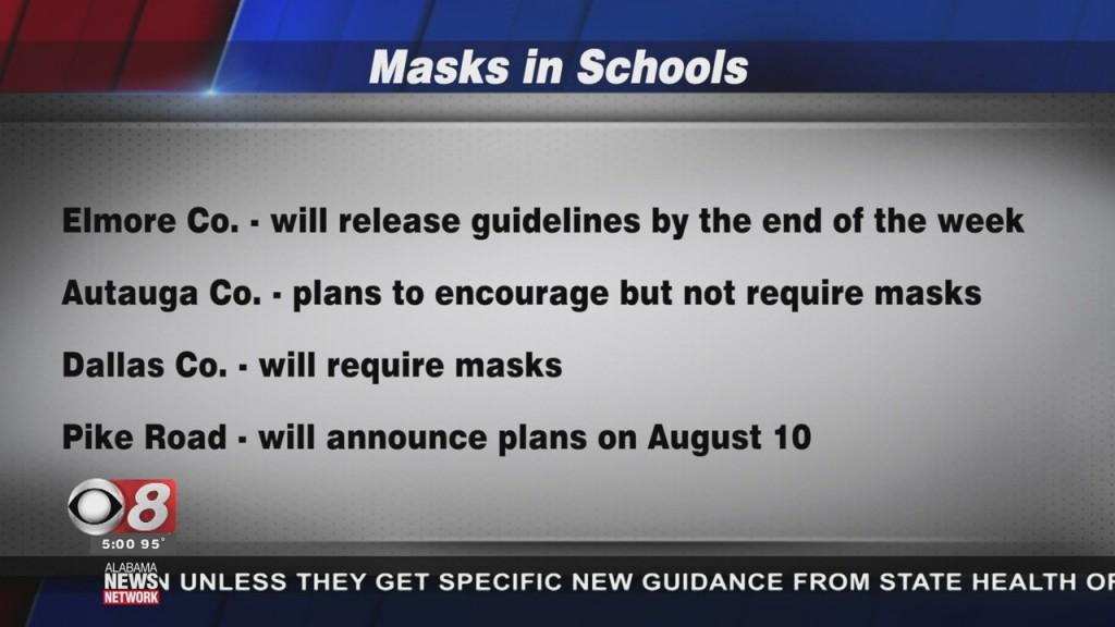 Mask In Alabama Schools