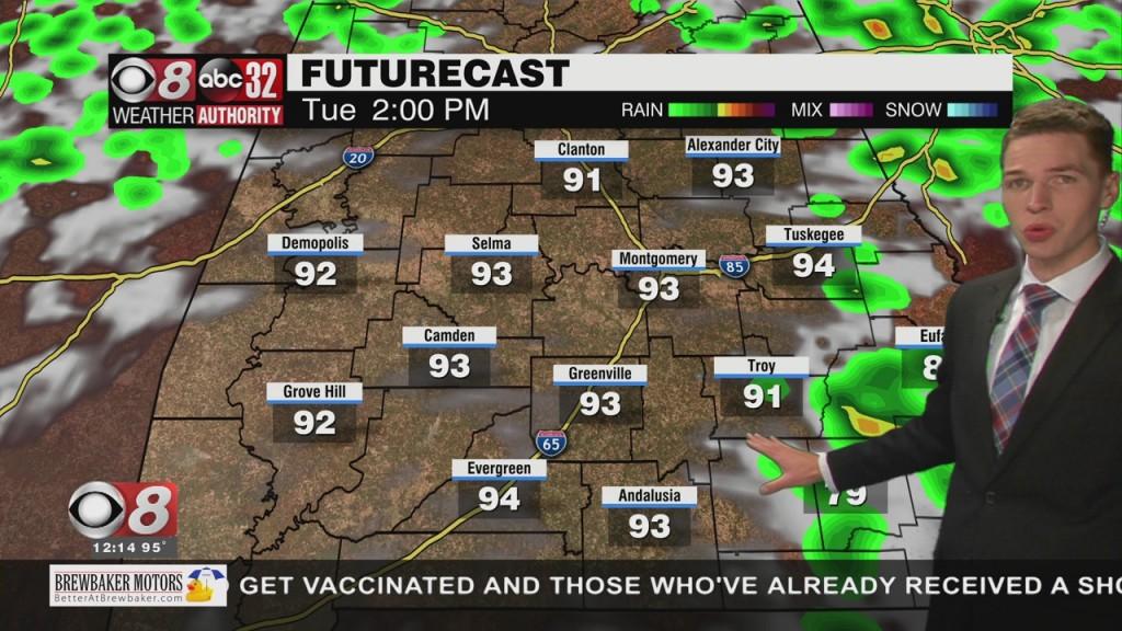 Ben's Noon Forecast Monday 7 26 21