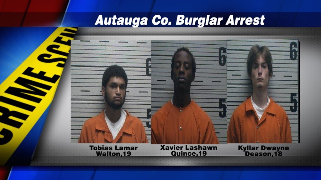 Prattville Burglary Arrest