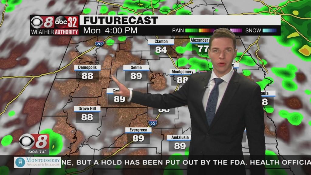 Ben's 5am Forecast Monday 9 20 21